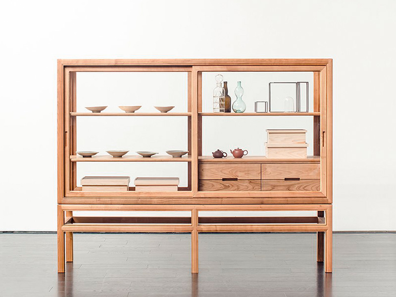museum cabinet for private collection